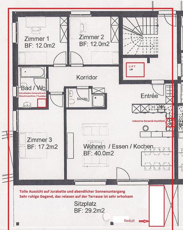Neue 4.5 Zimmer in Gränichen 4