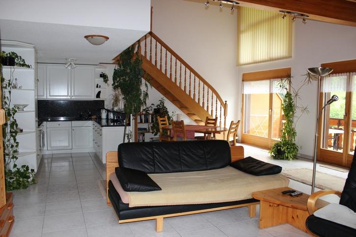 GOLF A sehr helle, gepflegte und luxuriöse 4.5 Zimmerwohnung, wie neu, mit Galerie 3954 Leukerbad