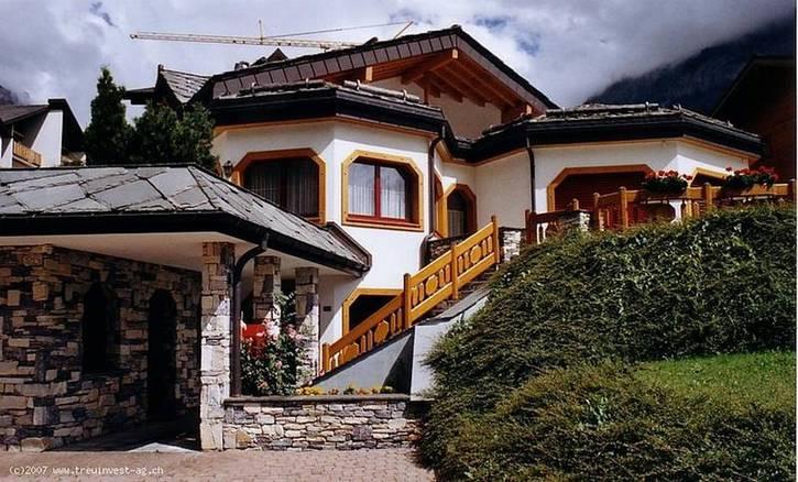 VILLA OCTOGON, Luxusvilla im Zentrum, sehr hohe Qualität 3954 Leukerbad