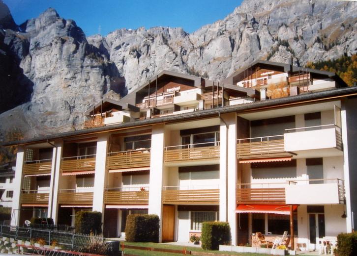 APPARTEMENTHAUS GEMMI, Renovierte, helle 2.5-Zimmerwohnung mit Balkon Süd und schöner Aussicht 2