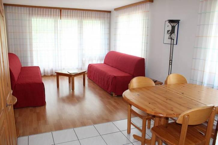 Residenz LES NATURELLES, Helle 2.5-Zimmer-Eckwohnung mit Balkon und wunderschöner Aussicht 3954 Leukerbad