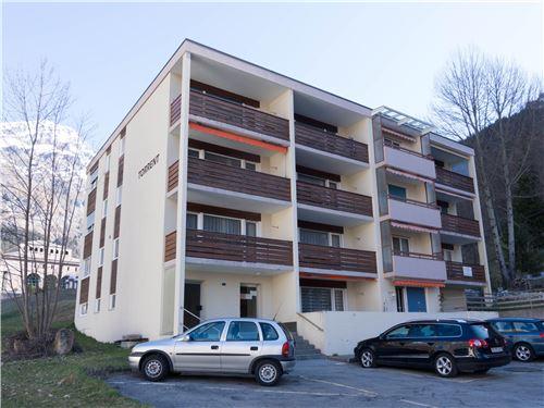 Appartementhaus TORRENT Helle 3.5-Zimmer-Eckwohnung mit grossem Balkon Sud Nähe Torrentbahnen 3954 Leukerbad