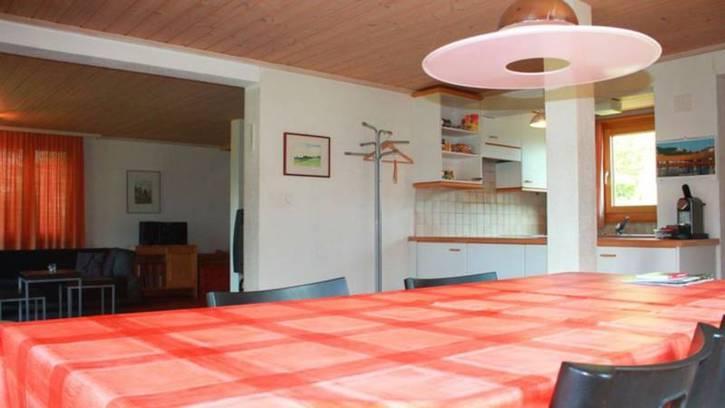 Chalet GRÄCHBIEL 7-Zimmer Chalet mit grossem Garten und Aussicht auf Riedgletscher und Mischabelgruppe 3