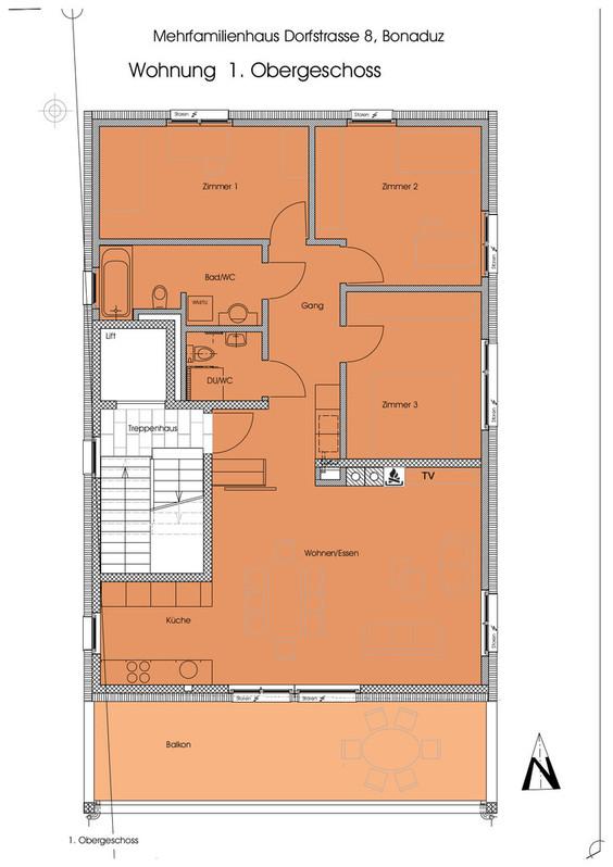 4,5 Zimmerwohnung in Bonaduz 3