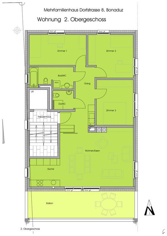 4.5 Zimmerwohnung in Bonaduz 7402 Bonaduz