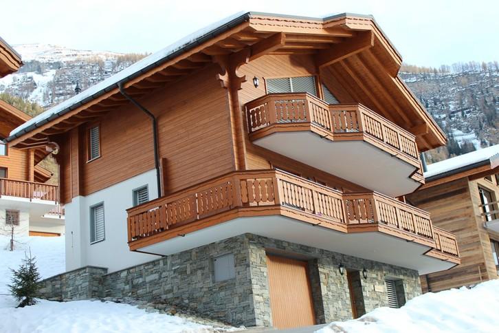 Luxuriöses 6-Zimmer-Chalet Veronika, niedriger Preis, hohe Rendite 3954 Leukerbad