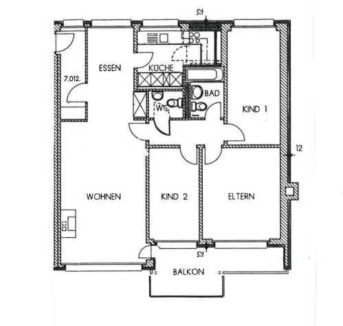 4.5 Zimmerwohnung in Volketswil 3