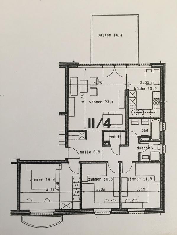 4.5 Zimmer Wohnung 8802 Kilchberg