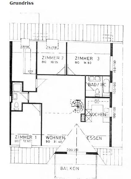 Grosse charmante & moderne 51/2-Zimmer Duplex-Dachwohnung mit Galerie 4