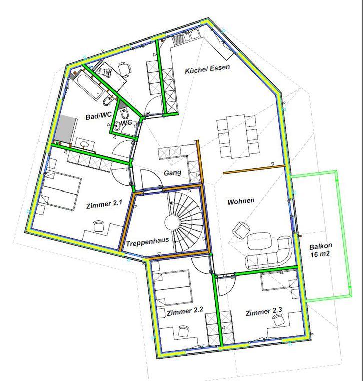 5.5 Zimmer Dach-Wohnung 8840 Trachslau