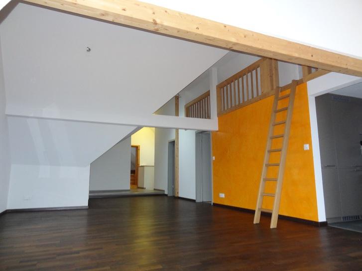Moderne, grosse Dachwohnung mit Seesicht  2