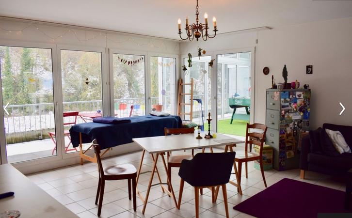 Helle grosse  Maisonette Wohnung mit Wintergarten und Dachterrasse an der Ergolz 3