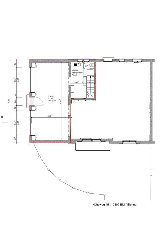 Helles Lokal / Büro / Atelier im Beaumontquartier, 50m2 3