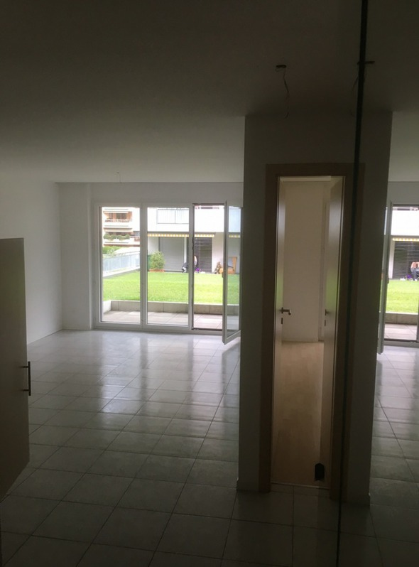 Eine schöne, preiswerte 2 Zimmer Gartenwohnung sucht einen neuen Bewohner 3902 Glis