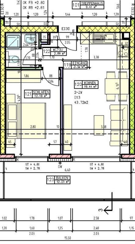 Eine schöne, preiswerte 2 Zimmer Gartenwohnung sucht einen neuen Bewohner 3