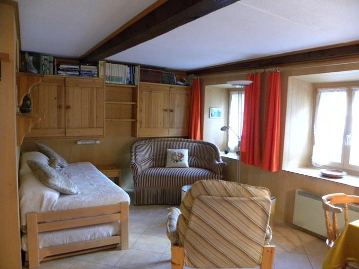 Vermiete 2-Zimmerstudio im wunderschönen Rheinwald 2