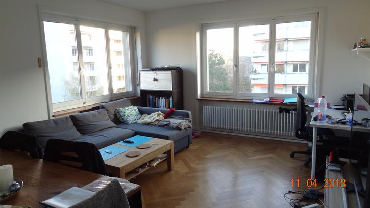 In der Nähe des Burgfelderplatz wird per 1. Juni 2018 ein Nachmieter für eine helle und schöne 2 Zimmerwohnung gesucht. 4