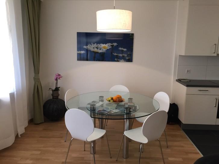 Großzügig geschnittene 2,5 Zimmerwohnung Möbelierte mit Balkon 4053 Basel