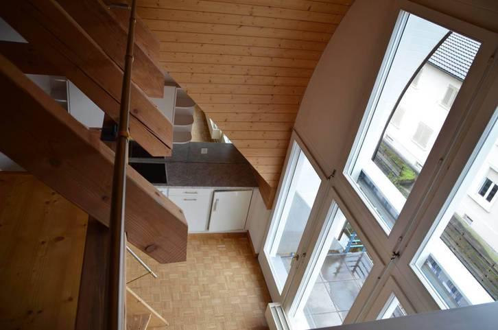 2.5 Zimmer Maisonette Dachwohnung mit Galerie im Zentrum Balsthal 3