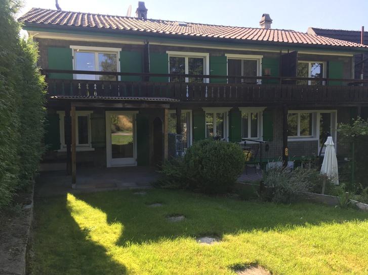 3.5 Zi-Hausteil 85 m2 für Gartenliebhaber 2