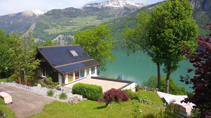 Traumhaus mit spektakulärer Seesicht 8758 Obstalden