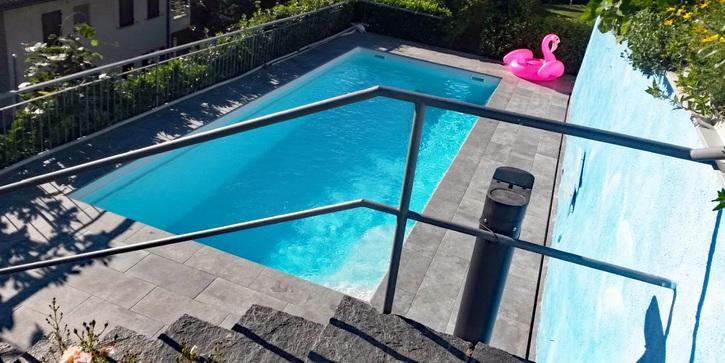 abitare come nelle vacanze - appartamento con piscina e giardino 2