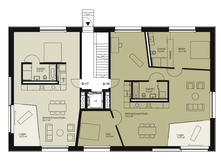 Exklusive Wohnung mit eigenem Welness/ Fitnessbereich 2