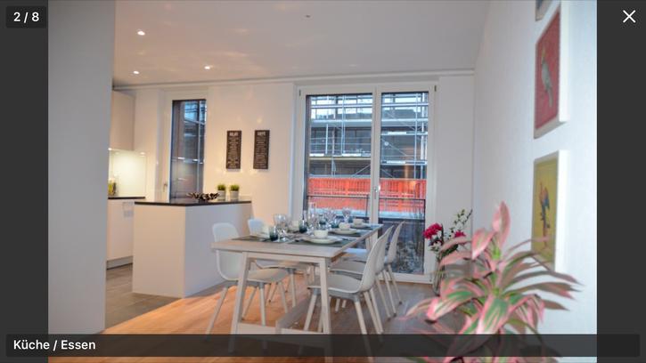 2.5 zimmer Wohnung. 1500.- bar für Nachmieter. (Neubau) 3110 Münsingen
