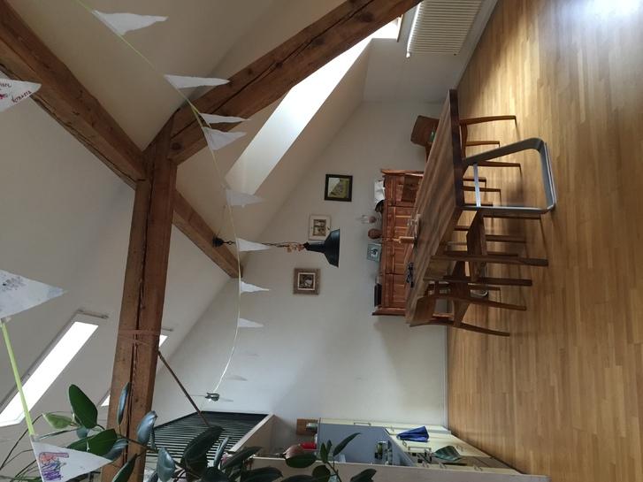 Schöne, ruhige und sonnige Dachwohnung im Breitenrain 3