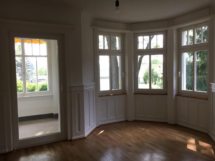 2.5 Zimmer Wohnung frisch renoviert mit Wintergarten und Garten 2