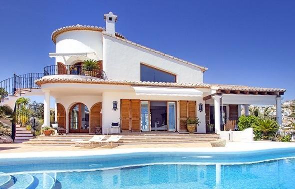 Costa Blanca Top Villa an vorderster Front, direkt über dem Meer und Klippen 2