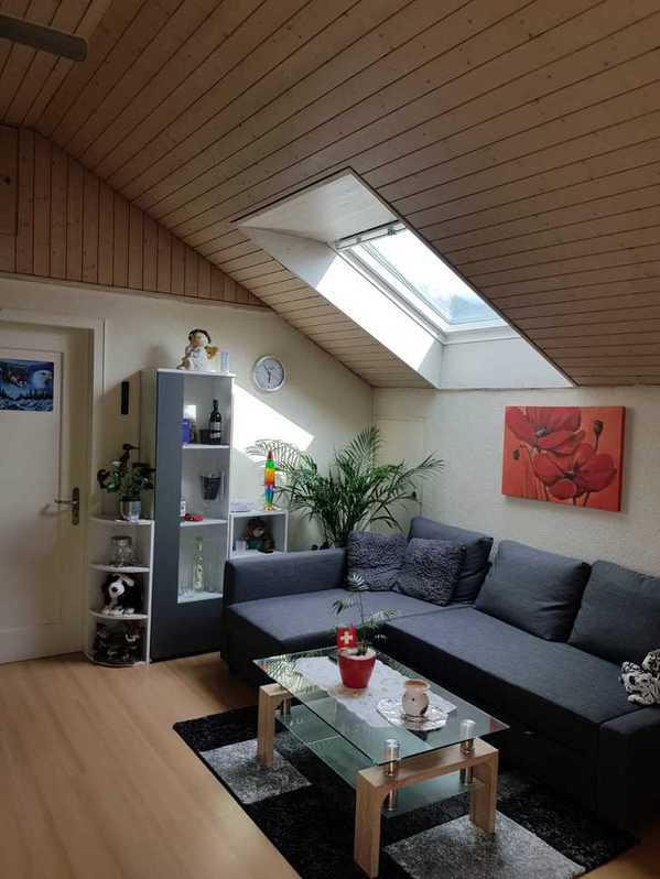 3,5 Zimmer Dachwohnung  6055 Alpnach