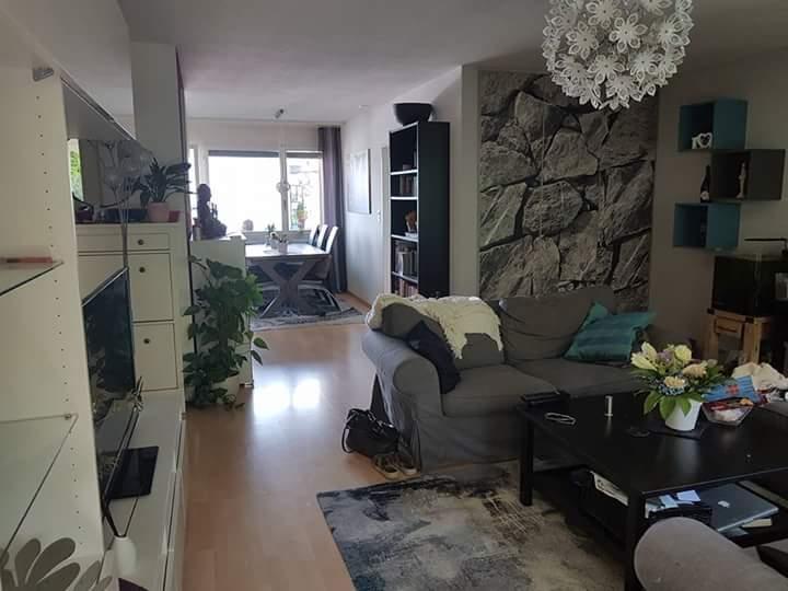 Schöne Wohnung mit Garten und Seesicht  2
