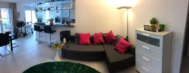 Möbilierte, moderne, helle 3.5 Zimmer Wohnung mitten in Rapperswil ab Oktober bis Dezember 3