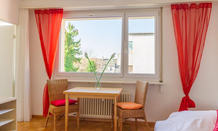 Möbliertes 1.5 Zimmerwohnung inkl. Internet und Fernseher 4057 Basel