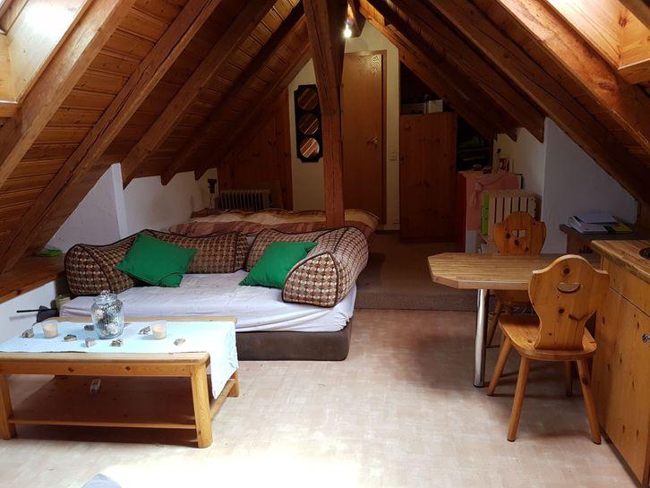 Nachmieter gesucht: günstige 1.5 Zimmer Altbau-Dachwohnung 8919 Rottenschwil