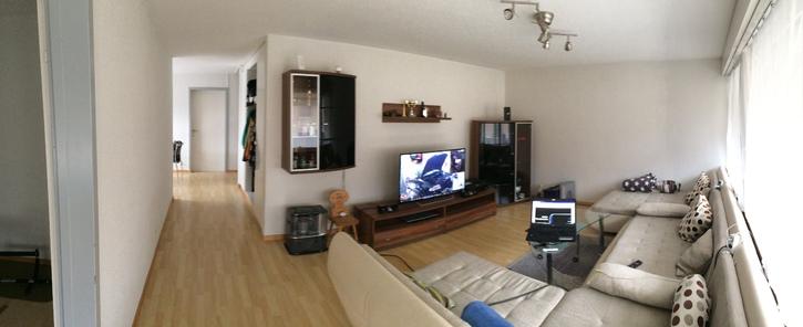 1 Grosser Zimmer in 4.5 Zimmerwohnung in Seftigen bei Thun 2