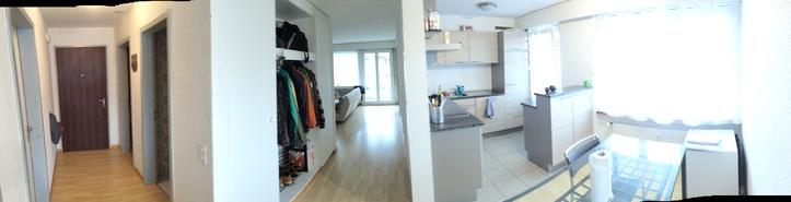 1 Grosser Zimmer in 4.5 Zimmerwohnung in Seftigen bei Thun 3