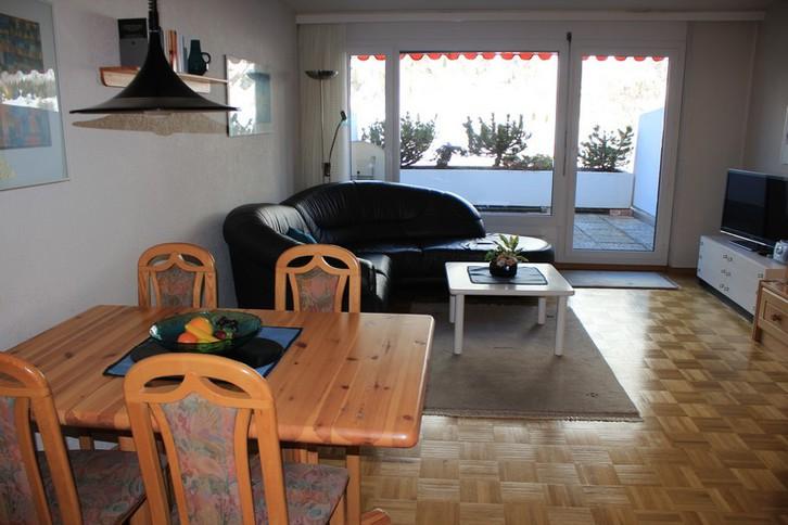 Appartementhaus LÄRCHENWALD: schöne 1.5 Zimmerwohnung mit grosser Terrasse 3954 Leukerbad
