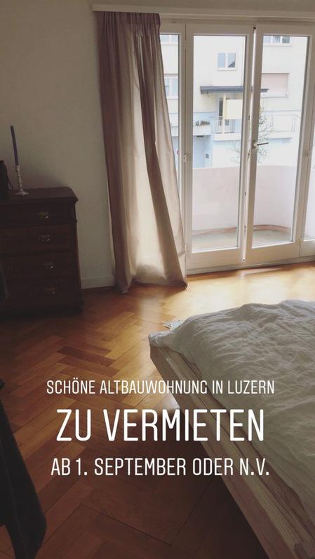 Schöne Altbauwohnung 3.5 Zimmer 6006 Luzern