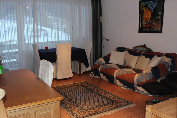 Appartementhaus Flaminia 2.5 Zimmerwohnung, teilmöbliert mit Balkon Süd-Ost 3954 Leukerbad
