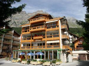 DIANA - helle gemütliche 2-Zimmerwohnung mit grossem Balkon 3954 Leukerbad