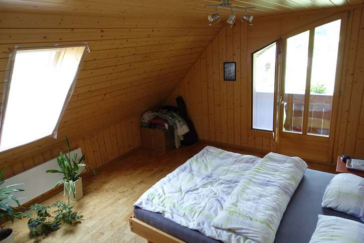 4.5 Zimmer Maisonette-Dachwohnung in Bauernhaus  4