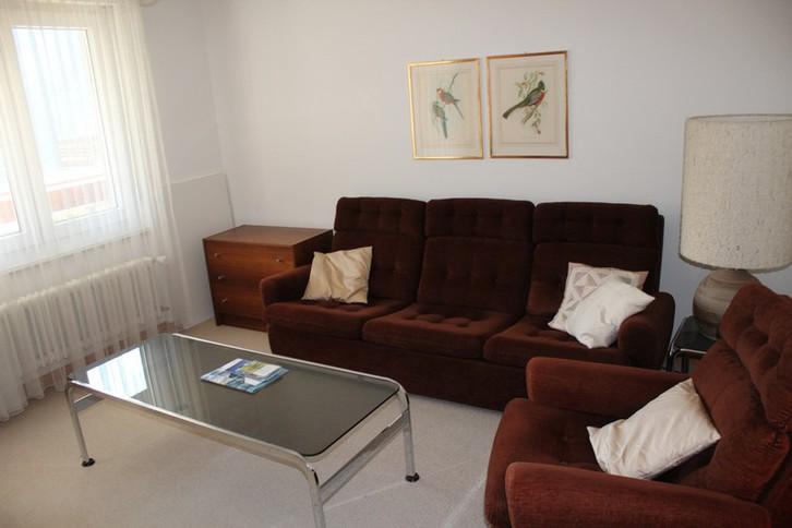 Appartementhaus Pfeiren: Helle, grosse 1.5-Zimmerwohnung mit Südbalkon und kleiner Terrasse  3