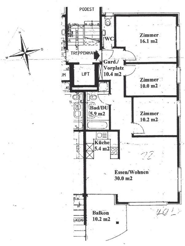 Gemütliche 4.5 Zimmer-Wohnung zu vermieten 8560 Märstetten