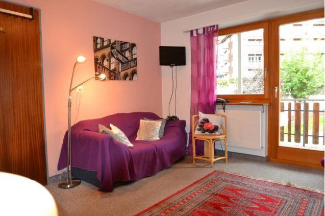 Appartementhaus DIANA - Komfortables Zimmer im Haus Diana 3954 Leukerbad