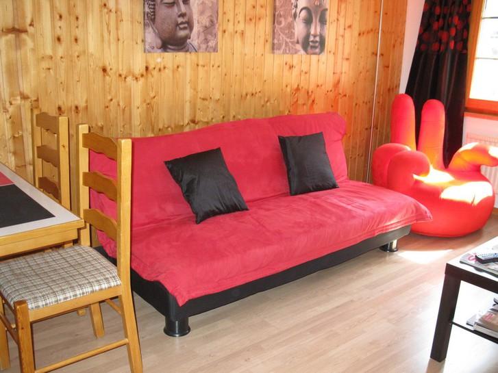 Haus BITOTZ: gemütliche 2-Zimmerwohnung im Zentrum 3954 Leukerbad