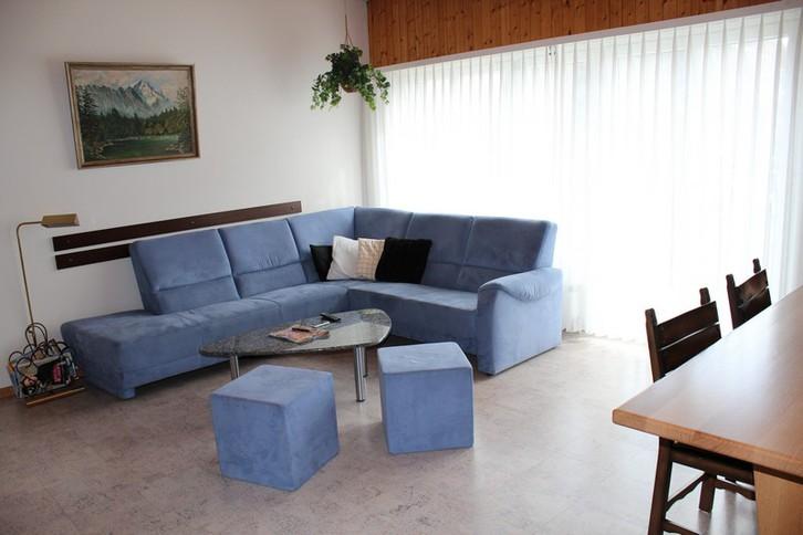 Appartementhaus  MIREILLE: 3.5-Zimmer-Attikawohnung mit Wohn-Estrich grosser Balkon süd mit wunderschöner Aussicht 3954 Leukerbad