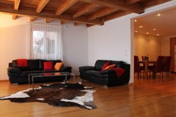 Chalet Regenbogen von sehr hoher Qualität mit 3 Wohnungen auf 5 Etagen 3954 Leukerbad
