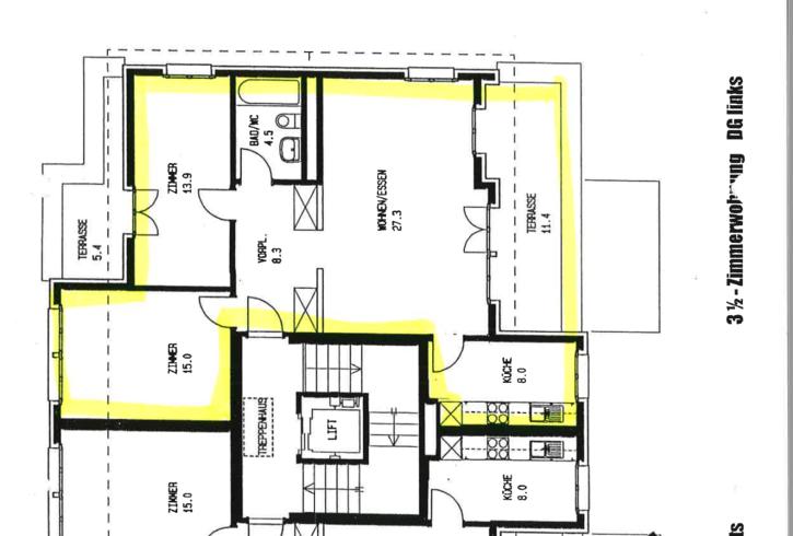 3,5 Zimmer Wohnung sucht dringend Nachmieter per 01.12.2018 8902 Urdorf